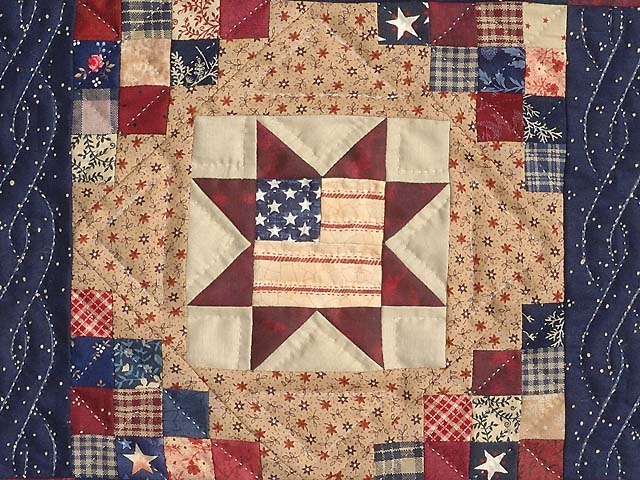 Miniature Patriotic Quilt Photo 2