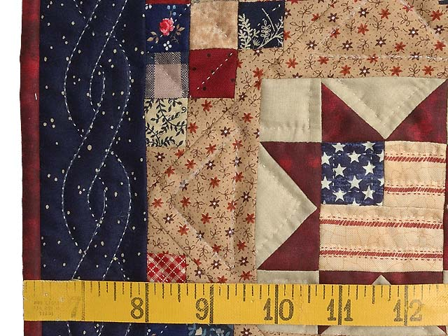 Miniature Patriotic Quilt Photo 3