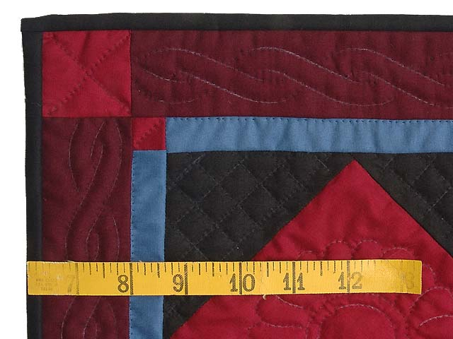 Miniature Amish Center Diamond Quilt Photo 3