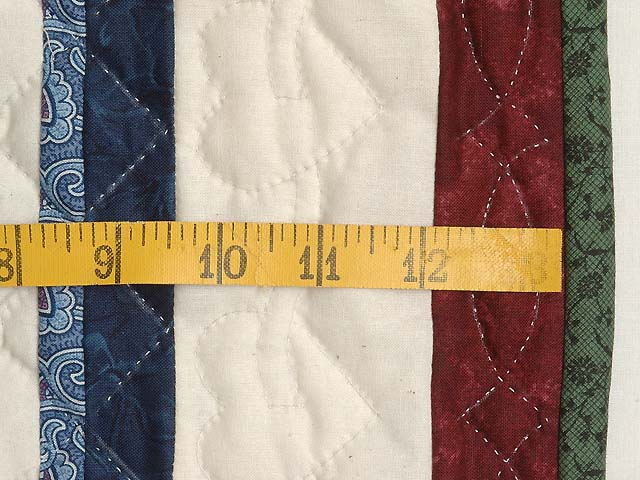 Burgundy and Multicolor Shoo Fly Wall Hanging Photo 5
