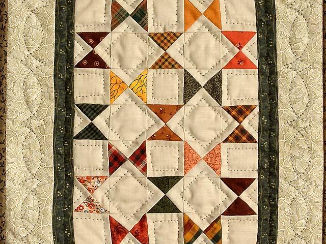 Ohio Stars Miniature Quilt Photo 2
