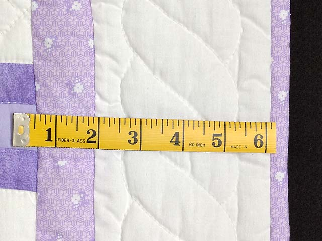 Lavender Sunbonnet Sue & Bill Crib Quilt Photo 7