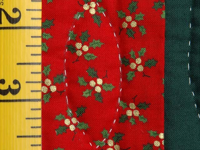 Green and Red Holly Baskets Wall Hanging Photo 6