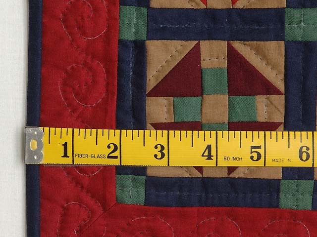 Miniature Amish Monkey Wrench Quilt Photo 3