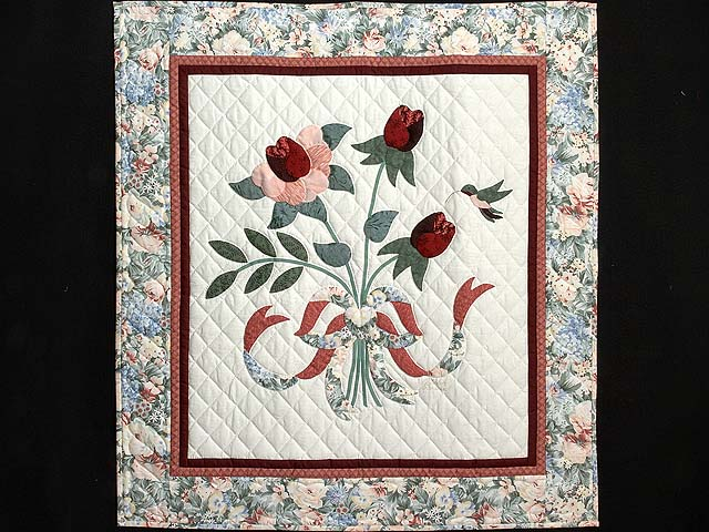 Rose and Sage Lancaster Treasures Wall Hanging Photo 1