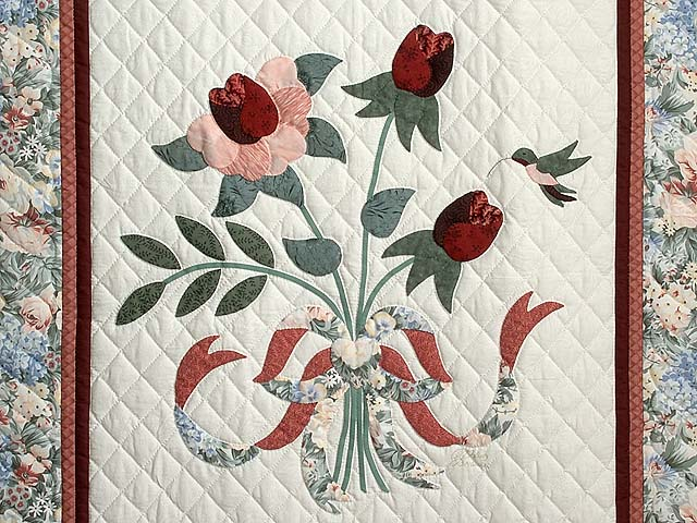 Rose and Sage Lancaster Treasures Wall Hanging Photo 2