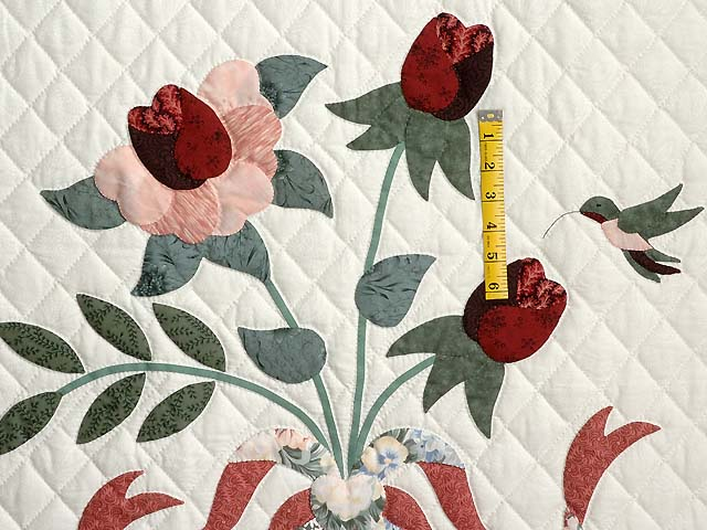 Rose and Sage Lancaster Treasures Wall Hanging Photo 3