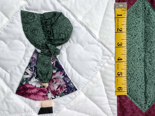 Pastel Sunbonnet Sue Crib Quilt Photo 4