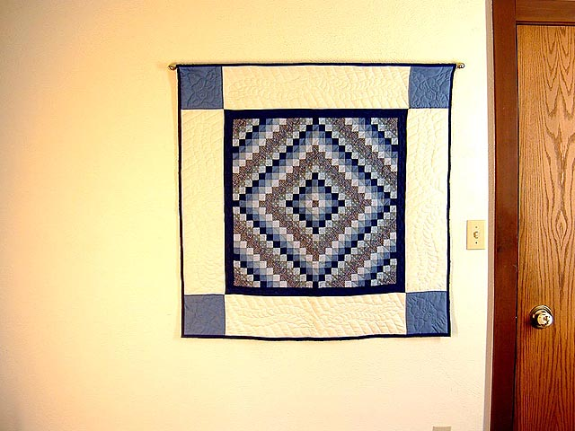 Blue Trip Around the World Wall Hanging Photo 1