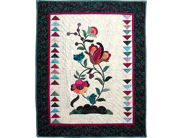 Jacobean Appliqued Wall Hanging Photo 1
