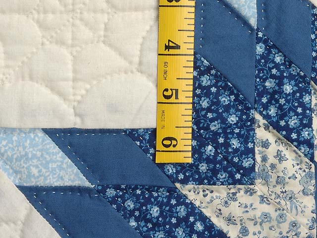 Blue and Cream Broken Star Wall Hanging Photo 4