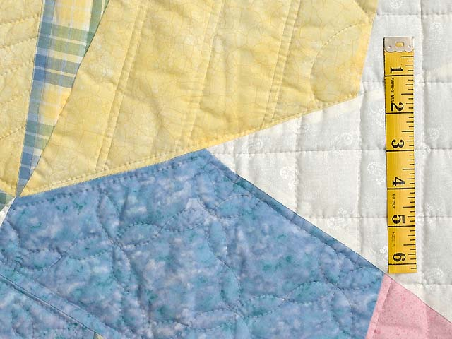 Pastel Holly Hobby Crib Quilt Photo 4