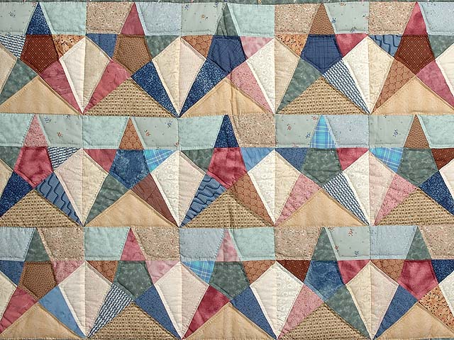 Country Pastels Homespun Stars Photo 2