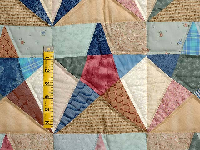 Country Pastels Homespun Stars Photo 3