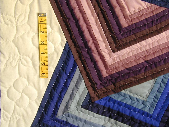 Purple and Blue Star Spin Throw Photo 3
