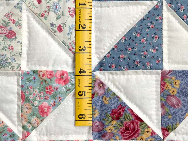 Pastel Pink and Multicolor Pinwheel Crib Quilt Photo 4
