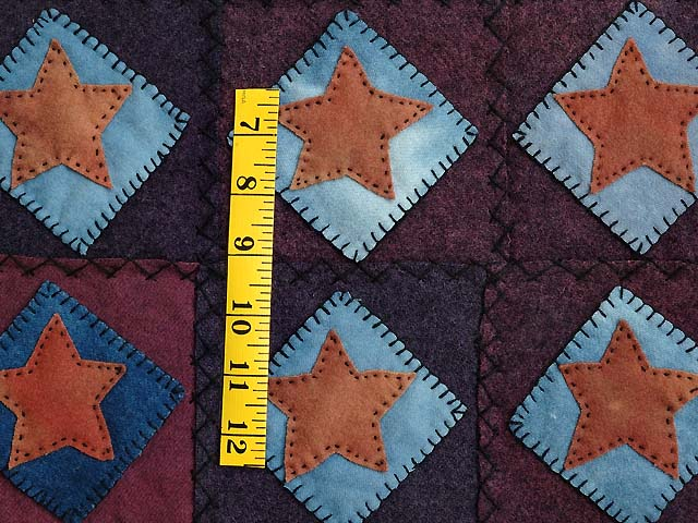 All Wool Little Stars Wall Hanging Photo 3