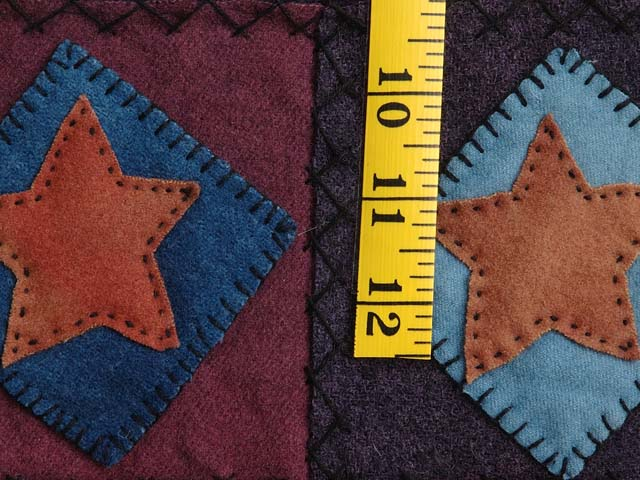 All Wool Little Stars Wall Hanging Photo 4