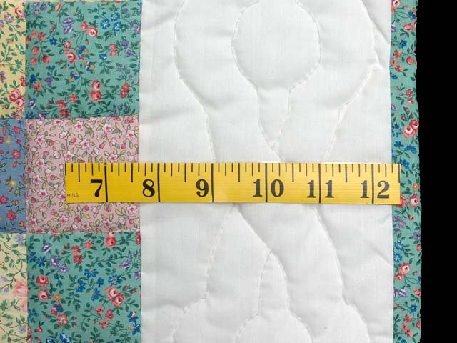Pastel Snowball Crib Quilt Photo 5