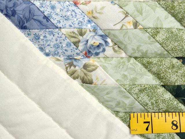 Green and Multicolor Lone Star Crib Quilt Photo 4