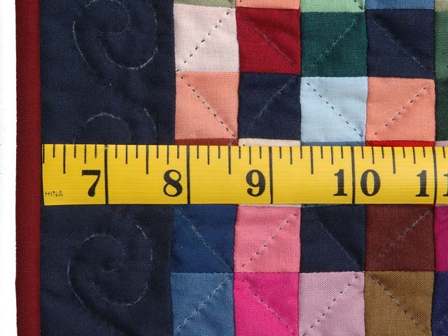 Mini Almost Amish Postage Stamp Quilt Photo 3
