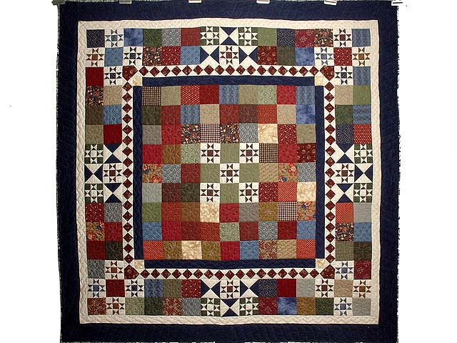 Country Home Ohio Star Sampler Throw Photo 1