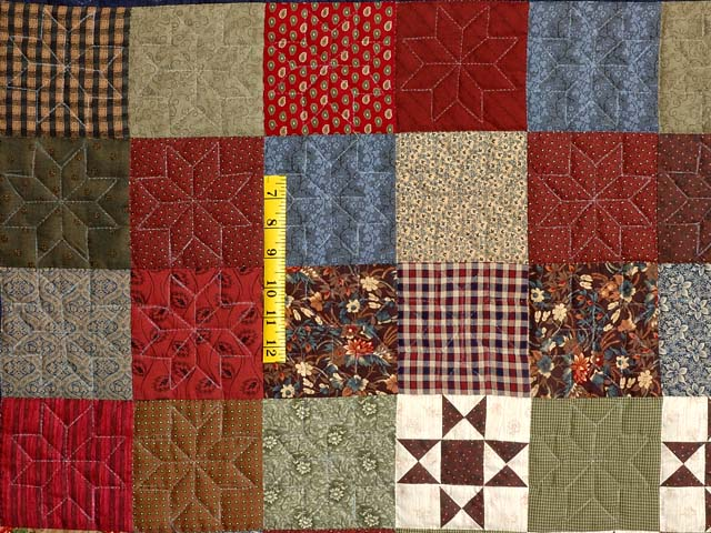 Country Home Ohio Star Sampler Throw Photo 4