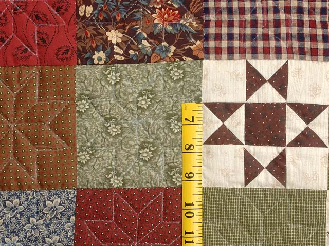 Country Home Ohio Star Sampler Throw Photo 5