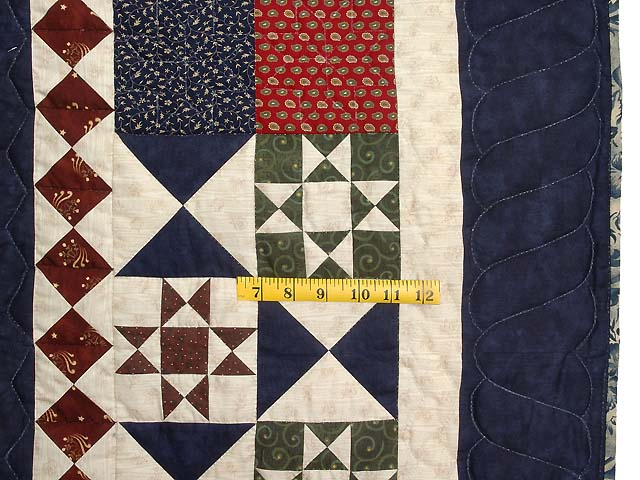 Country Home Ohio Star Sampler Throw Photo 6