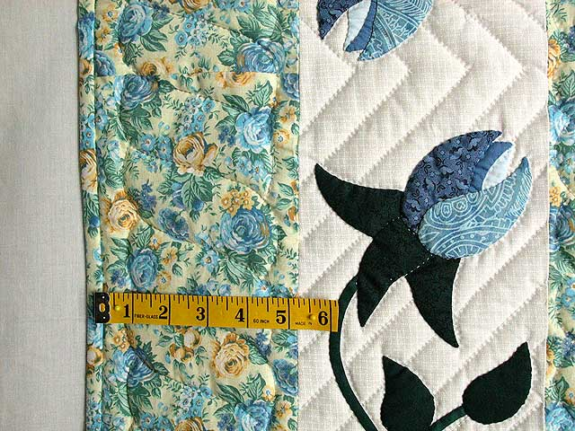 Yellow and Blue I Promised You a  Rose Garden Wall Hanging Photo 4