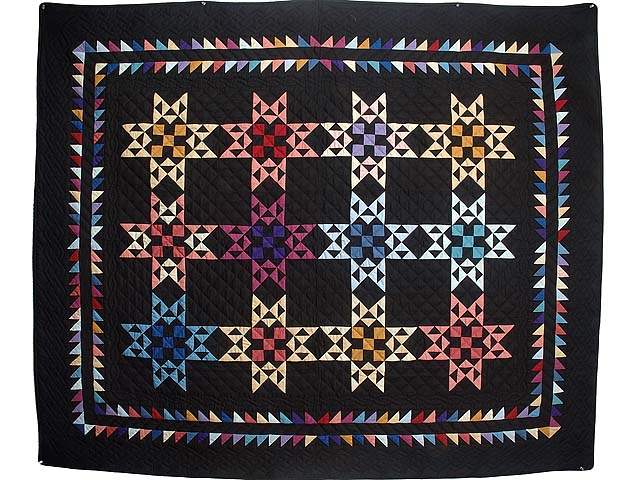 Almost Amish Star Glow Throw Photo 1
