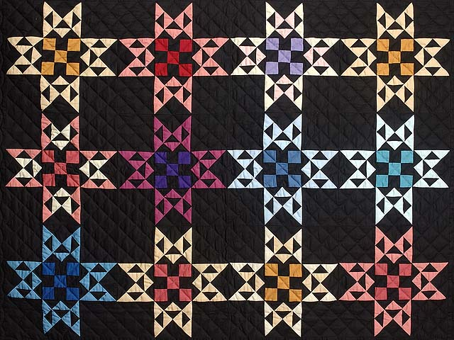 Almost Amish Star Glow Throw Photo 2
