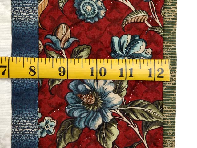 Rose of Sharon Compass Wall Hanging Photo 6