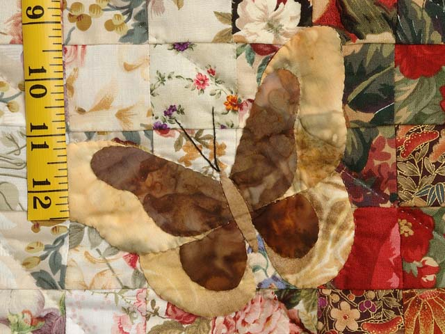 Burgundy and Gold Watercolor The Journey Butterfly Wall Hanging Photo 4