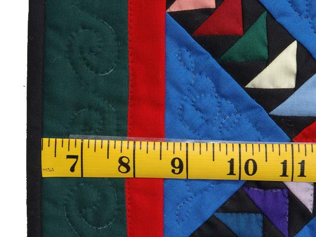 Miniature Crossed Flying Geese Quilt Photo 3