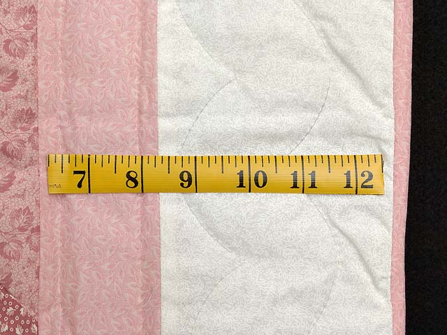 Pastel Pink Sunbonnet Sue Crib Quilt Photo 6