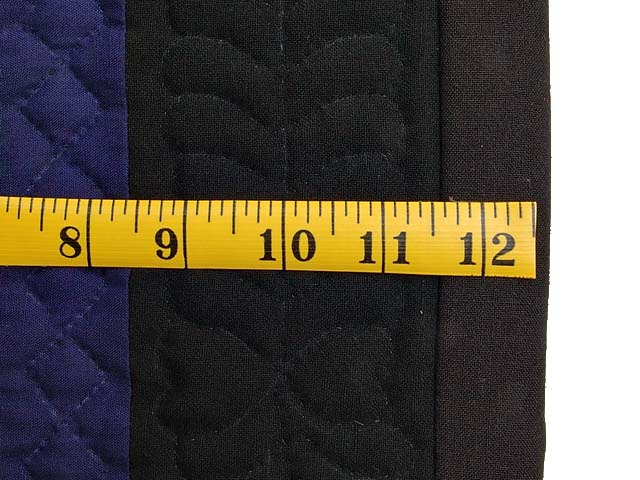 Amish Woolen Nine Patch Wall Hanging Photo 4