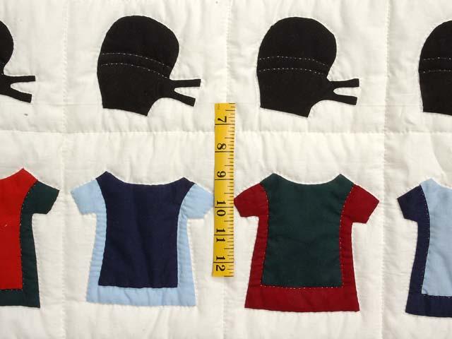 Amish Clothes Crib Quilt Photo 4