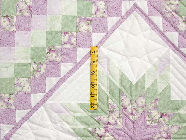 Lavender and Green Lone Star Trip Wall Hanging Photo 3