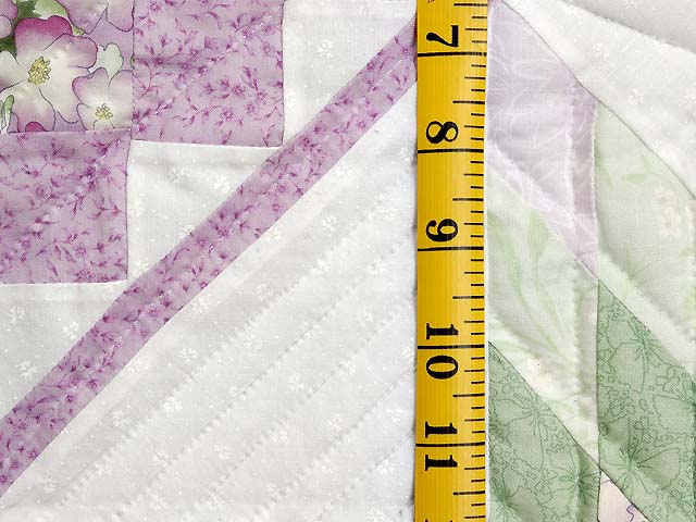 Lavender and Green Lone Star Trip Wall Hanging Photo 4