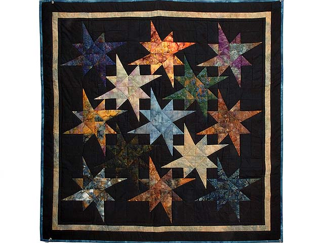 Hand Painted Star Bright Wall Hanging Photo 1