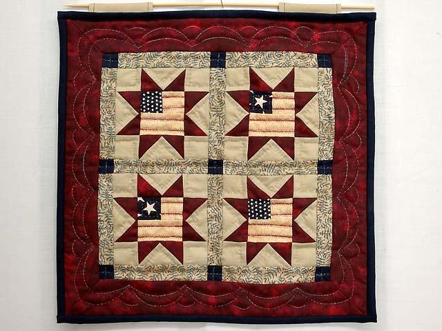 Miniature Patriotic Quilt Photo 1