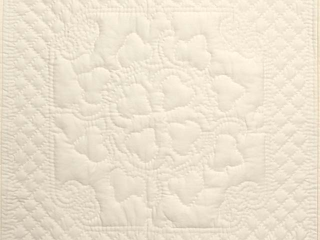 All Quilted Grape Leaves Mini Quilt Photo 2