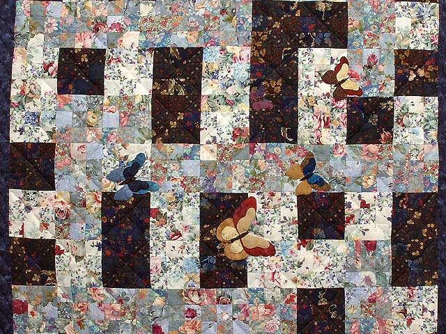 Navy Butterfly Journey Maze Wall Hanging Photo 2