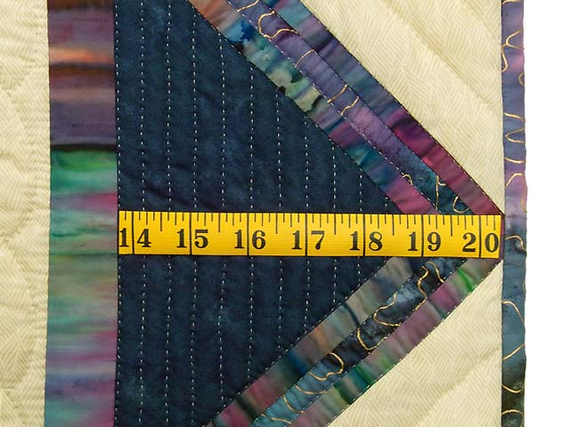 Navy and Multicolor Rainbow Reflections Throw Photo 6