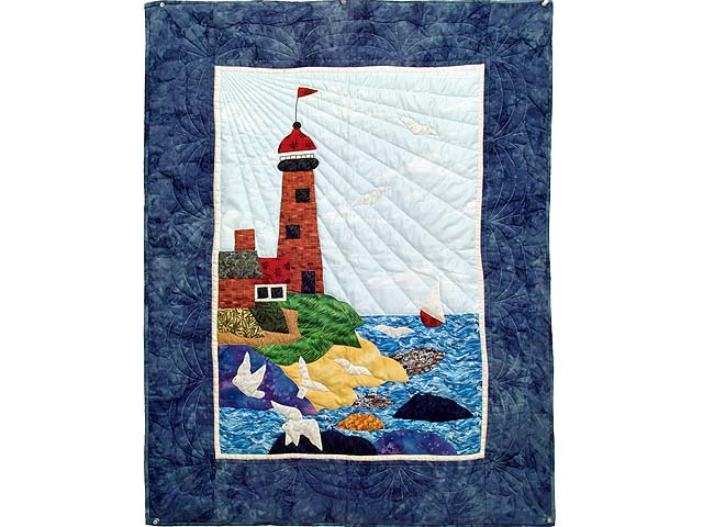 Northeastern Lighthouse Wall Hanging Photo 1