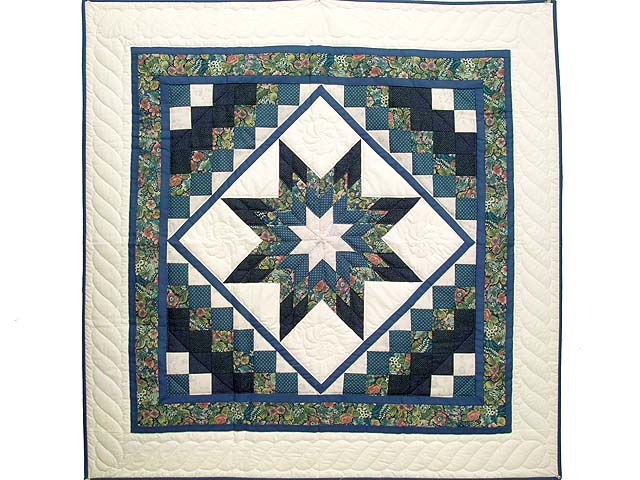 Blue Navy and Rose Lone Star Trip Wall Hanging Photo 1