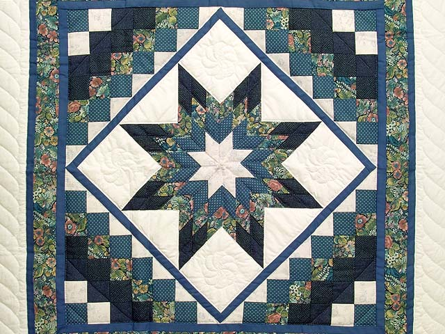 Blue Navy and Rose Lone Star Trip Wall Hanging Photo 2