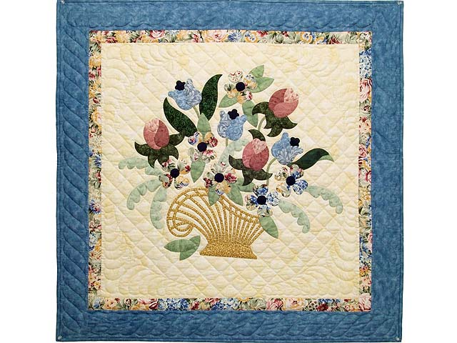 Blue Spring Basket Wall Hanging Photo 1