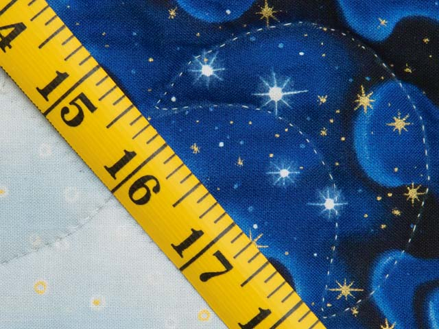Blue Navy and Gold Celestial Throw Photo 6